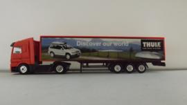 Dickie 1:87 vrachtwagen Mercedes Thule Car Rack Sysems Sweden Zweden ovp