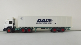 Wiking vrachtwagen Iveco container DAL ovp 52301
