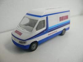 Herpa Mercedes Benz BEUM Elektro BV Rothem Meersen ovp 1384