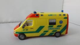 Herpa Mercedes Benz Sprinter Ambulance Nederland