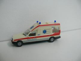 Herpa Ambulance Nederland Kijlstra Drachten Mercedes Miesen Bonna