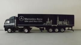 Herpa  vrachtwagen Mercedes Benz Ulm und Neu Ulm exclusiv serie  ovp