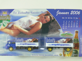 18 + )  Erotik Truck -  erotische vrachtwagen:  Sachsenpils ovp