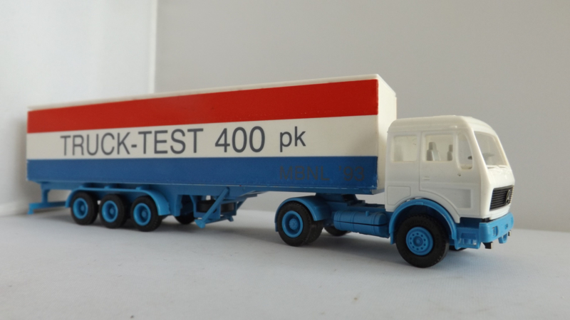 Herpa Mercedes vrachtwagen Truck test 400 PK