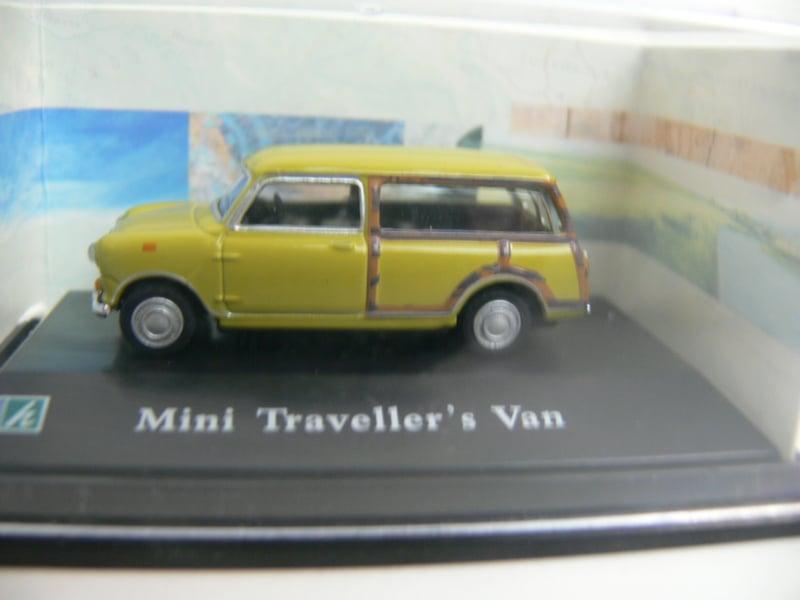 Hongwell Mini Traveller's Van ovp +- 1:80
