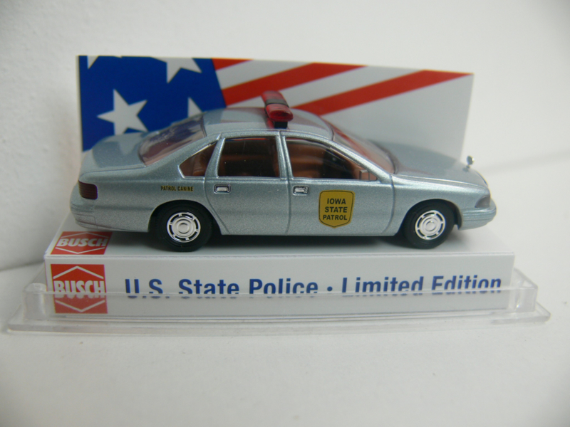 Busch Chevrolet Caprice State Police IOWA USA 47682