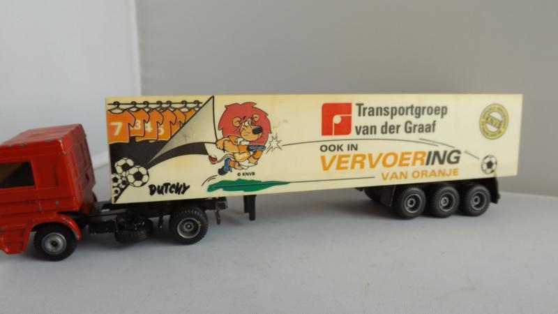 Efsi vrachtwagen Scania Transport van der graaf EK 1996