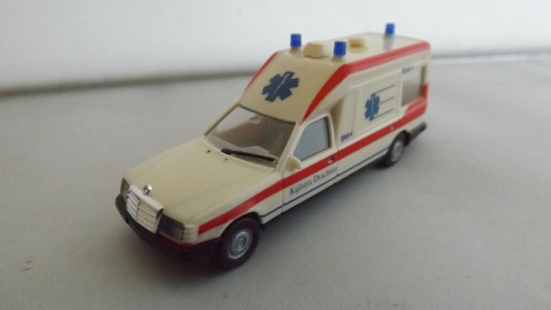 Herpa Mercedes Benz Miesen Bonna Ambulance Kijlstra Drachten ovp