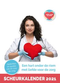 Scheurkalender 2021 'Liefde voor de Zorg'