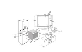 Pelgrim OVM326RVS Hetelucht Inbouw Oven, Nis 60 cm