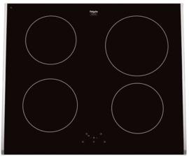 Pelgrim IDK465ONY Inductiekookplaat voor combinatie met hetelucht oven, 60 cm breed