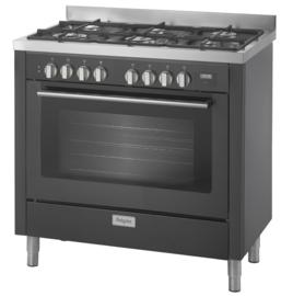 Pelgrim NF960MATA Fornuis met multifunctionele oven 90 cm breed
