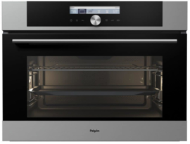 Pelgrim OVM624RVS Multifunctionele Inbouw Oven, Nis 45 cm