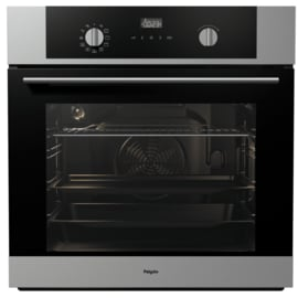 Pelgrim OVM426RVS Hetelucht Inbouw Oven, Nis 60 cm