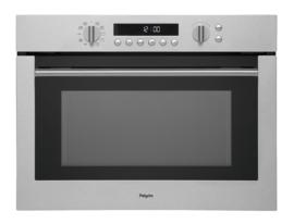 Pelgrim MAC696RVS Multifunctionele Inbouw Oven met magnetronfunktie, Nis 45 cm