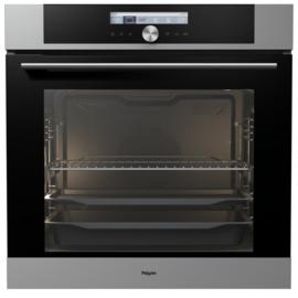 Pelgrim OVP626RVS Multifunctionele Inbouw Oven met pyrolyse, Nis 60 cm