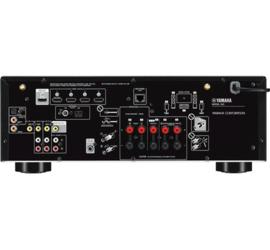 YAMAHA RX-V485 Zwart (MusicCast)