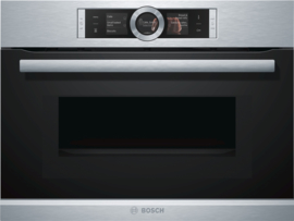 Bosch CMG636NS2 Exclusiv Inbouw Oven met magnetron, Nis 45