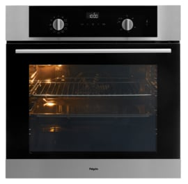 Pelgrim OVP426RVS Multifunctionele Inbouw Oven met pyrolyse, Nis 60 cm