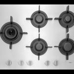 Pelgrim GK875RVSA Vlak RVS gaskookplaat met A+ branders, 75 cm breed