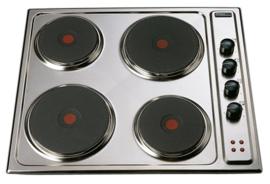 Pelgrim EKB550RVS Elektrokookplaat, 58 cm breed