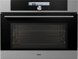 Pelgrim MAC624RVS Multifunctionele Inbouw Oven met magnetronfunktie, Nis 45 cm
