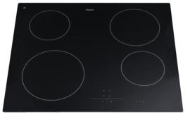 Pelgrim CKT845ONY Keramische kookplaat, 60 cm breed
