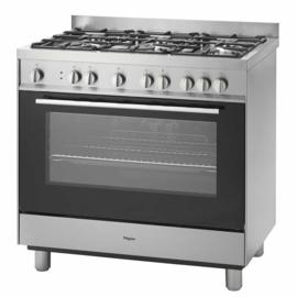 Pelgrim NF941RVSA  Fornuis met multifunctionele oven 90 cm breed