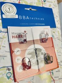 MAGISCHE SET HERBUIKBARE OPHANGHAKEN 1e Publieksprijs bij de Caravannen! Accessoire van het jaar 2020!