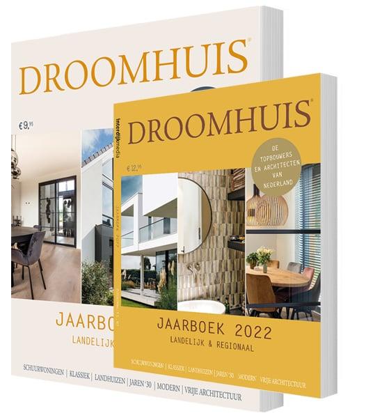 Droomhuis Jaarboeken 2021 + 2022 Package Deal samen voor  € 19.95