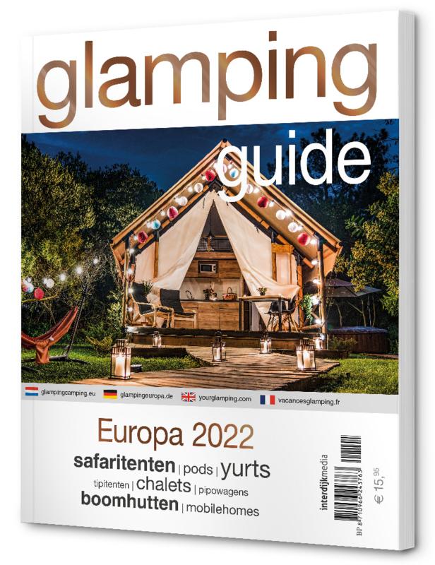 **RESERVEER** Glamping Guide Europa 2022 (levering medio december)
