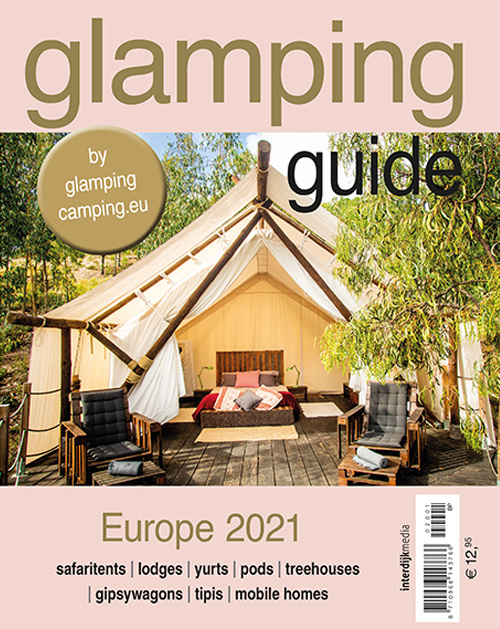 Glamping Guide Europa 2021 ** levering medio maart**