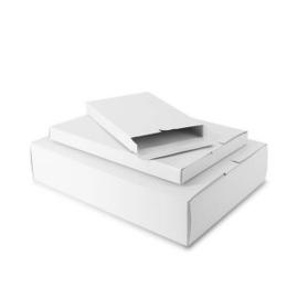 Papieren Verzenddoos wit