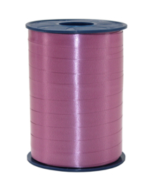 Poly Plain Krullint bordeaux-roze