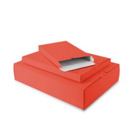 Papieren Verzenddoos rood
