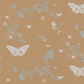 Nature eco leaves vlinders