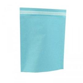 Papieren Verzendzak aqua