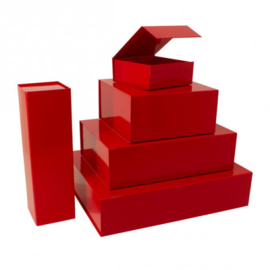 Magneetdoos glans rood