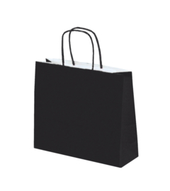 Bags Twisted Handle H zwart