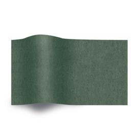 Vloeipapier donker groen