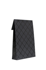 Luxe Gift bags square zwart