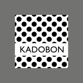 Kadobon stip zwart