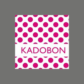 Kadobon stip fuchsia