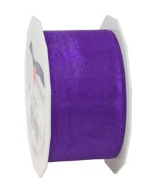 Organza Slitted violet