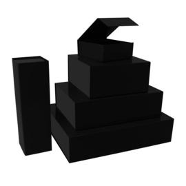 Magneetdoos kraft zwart