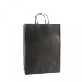 Budget Papieren draagtas zwart