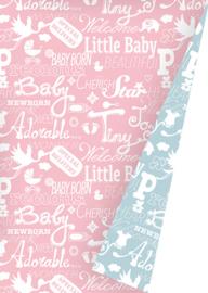 baby Ongemetalliseerd Inpakpapier