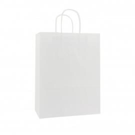 Budget Papieren draagtas wit