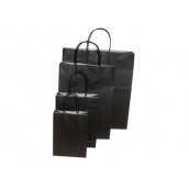 Twisted Papieren draagtas zwart