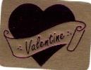 Valentijn stickers goud-fuchsia